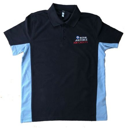 RAF Air Cadet Polo Blue Navy